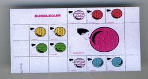 Bubblegum Mini-Stamps